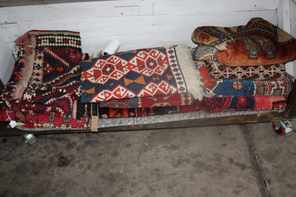 Vintage blankets.