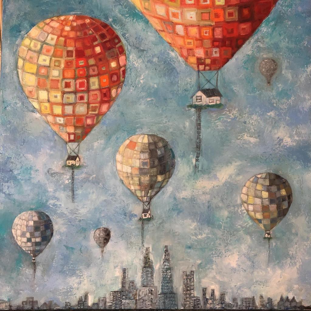 """Social Distancing"" by Manami Lingerfelt."