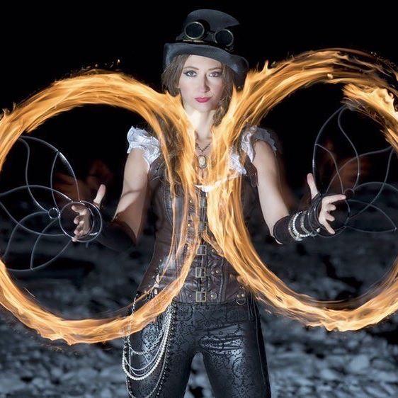 Fire dancer Eugenia Gonzales talks surviving under Corona Virus lockdown.