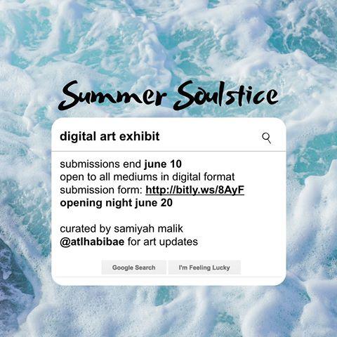 """Summer Soulstice,"" a digital art exhibit."